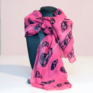 Scarf McQueen Pink