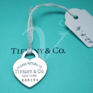 Charm Tiffany Cuore Return