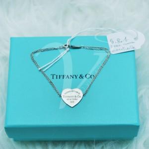 Bracciale Tiffany con Cuore Return Medio