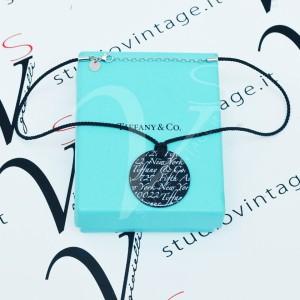 Collana Tiffany con pendente in ceramica notes