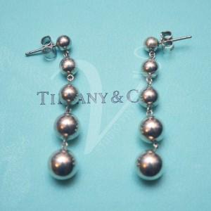 Orecchini Tiffany pendenti a sfere