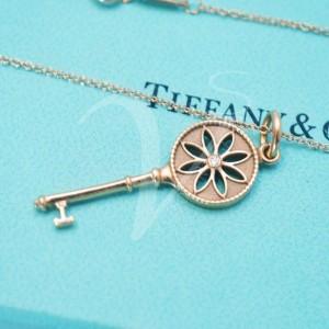 Chiave Tiffany Margherita Oro Rosa e Diamante