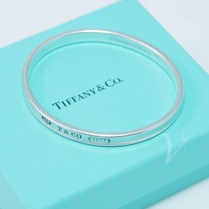 Bangle Tiffany & Co. in argento