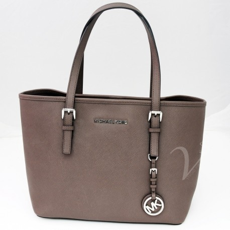 Michael Kors Jet Set Toupe Small