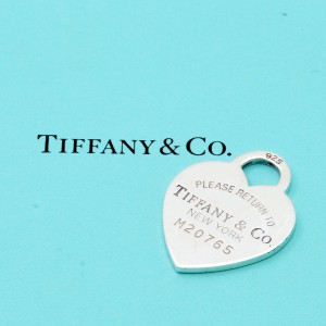 Ciondolo Tiffany Cuore Return Numerato