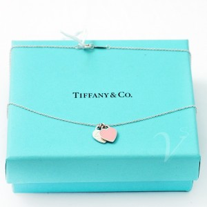 Catenina Tiffany Doppio Cuore Return smaltato
