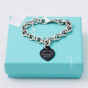 Bracciale Tiffany Cuore Return Titanio