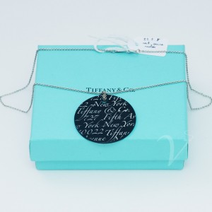 Catenina Tiffany con pendente Onice Notes