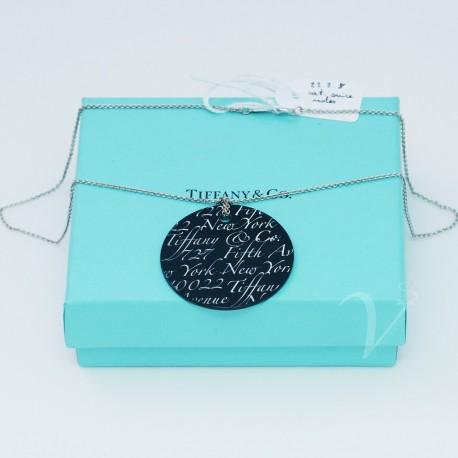 Catenina Tiffany con pendente Onice Notes