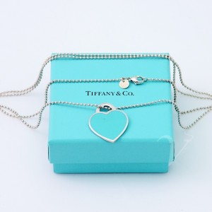 Collana Tiffany con pendente large smaltato