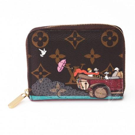 bdaadd3bf7 Portafoglio Louis Vuitton Zippy Coin L.E. - Studio Vintage