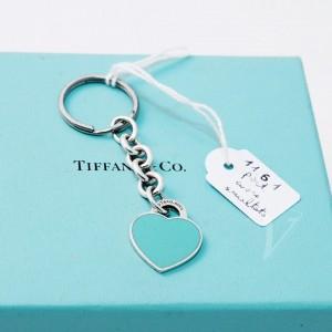 Portachiavi cuore smaltato return Tiffany