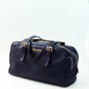 Miu Miu handbag in pelle blu