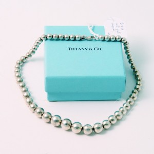 Girocollo Tiffany & Co. beads degradè