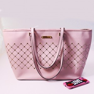 Michael Kors Jet Set Rosa Large