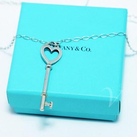 Collana con chiave cuore Tiffany