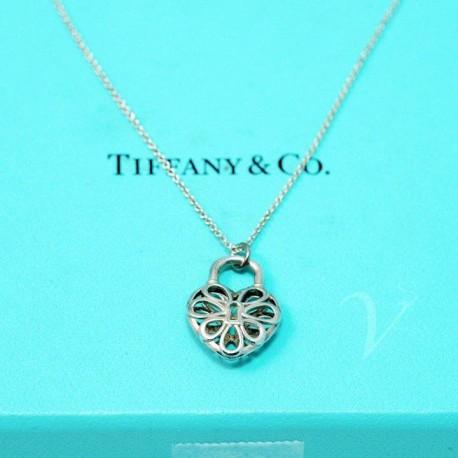 Collana cuore filigree Tiffany