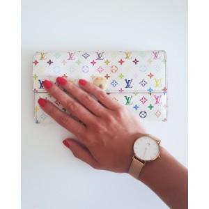 Portafoglio multicolor sarah Louis Vuitton