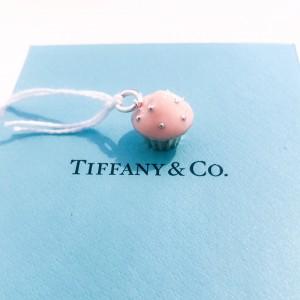 Charm cupcake Tiffany