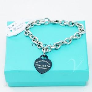 Bracciale Tiffany con pendente Cuore Titanio
