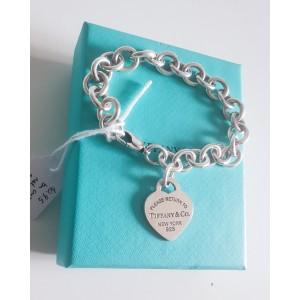 Bracciale classico cuore return medio Tiffany