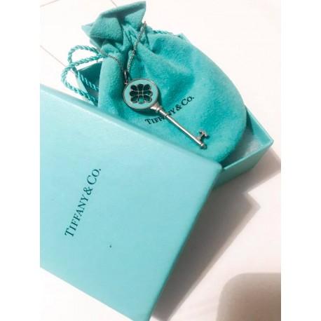 Collana Tiffany con chiave smaltata
