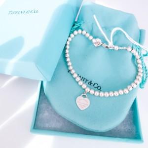 Bracciale Tiffany minibeads Cuore