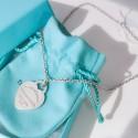 Catenina girocollo Tiffany con pendente Cuore Large